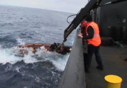 pulley break in whale wars