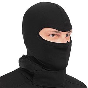 black balaclava hat