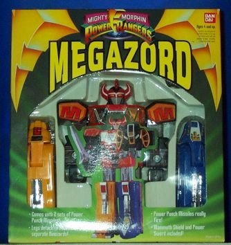 The Mighty Morphin Power Ranger Megazord Deluxe Edition by Bandai