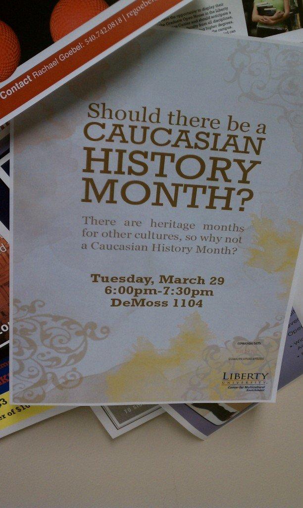 caucasian history month